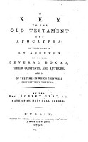 A Key to the Old Testament and Apocrypha PDF