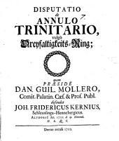 Disp. de annulo trinitario