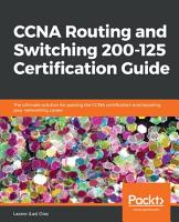 CCNA Routing and Switching 200 125 Certification Guide PDF