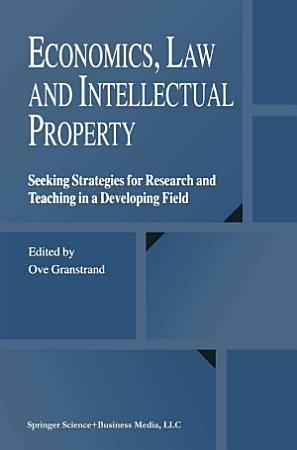 Economics  Law and Intellectual Property PDF