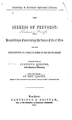 The Seeress of Prevorst PDF