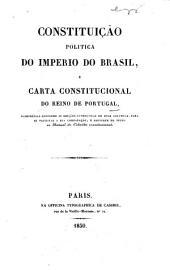 Constituição politica do Imperio do Brasil, e Carta Constitucional do reino de Portugal