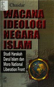 Wacana ideologi negara Islam PDF