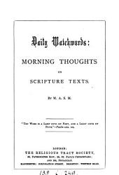 The waves of this troublesome world [by M.A.M ].