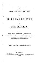A practical exposition of St. Paul's epistle to the Romans