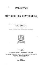 Introduction à la méthode des quaternions