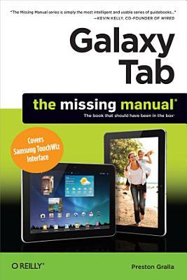 Galaxy Tab  The Missing Manual