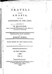Travels Through Arabia and Other Countries in the East: Volume 2