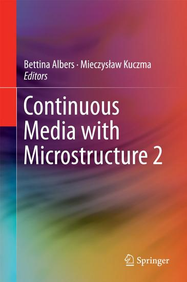Continuous Media with Microstructure 2 PDF