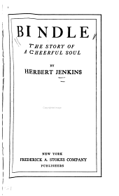 Bindle: The Story of a Cheerful Soul