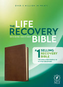 NLT Life Recovery Bible  Second Edition  Leatherlike  Rustic Brown