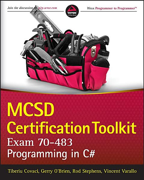 Mcsd Certification Toolkit Exam 70 483