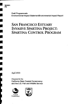 San Francisco Estuary Invasive Spartina Project PDF