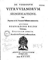 De Verborum Vitruvianorum significatione