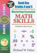 Mastering Essential Math Skills Book One  Grades 4 and 5 Book