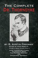 The Complete Dr  Thorndyke   Volume 2 PDF
