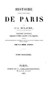 Histoire physique, civile et morale de Paris: Volume3