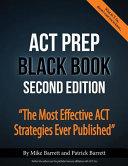 ACT Prep Black Book Book