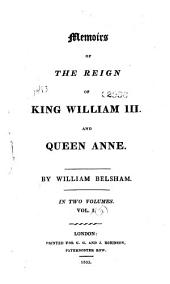 Memoirs of the reign of King William III and Queen Anne: Volume 2