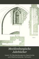 Mecklenburgische Jahrb  cher PDF