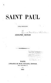 Saint Paul: cinq discours