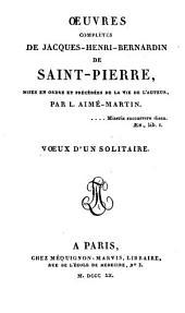 Œuvres complètes de Jacques-Henri-Bernardin de Saint-Pierre: Volume16