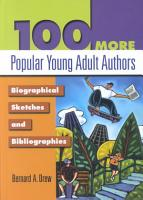 100 More Popular Young Adult Authors PDF