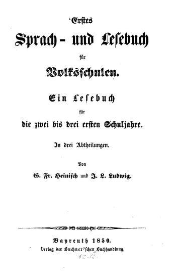 Sprach  und Lesebuch PDF