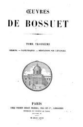 Oeuvres de Bossuet: Volume3