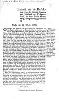 19 Oct  1759   Missive van het Collegie der Admiraliteit opde Maaze over hanne oude differenten met de kamer vande Westindische Compagnie aande Maaze  etc   MS  notes PDF