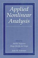 Applied Nonlinear Analysis PDF