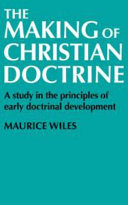 The Making Of Christian Doctrine