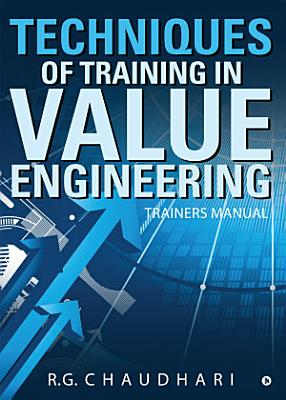Techniques Of Training In Value Engineering PDF