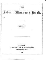 The Juvenile Missionary Herald PDF