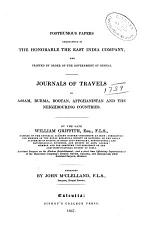 Journals of travels in Assam, Burma, Bootan, Affghanistan and the neighbouring countries