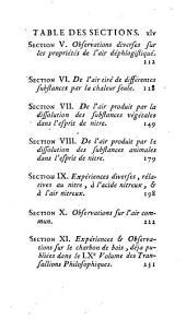 Expériences Et Observations Sur Différentes Especes D'Air: Volume2