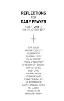 Reflections for Daily Prayer  Advent 2016 to Christ the King 2017 PDF