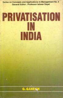 Privatisation in India Book