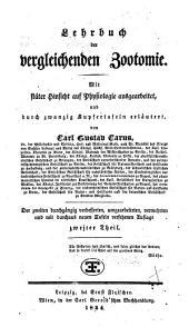 Lehrbuch der vergleichenden Zootomie: Band 2