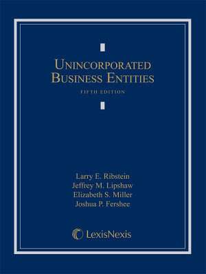 Unincorporated Business Entities PDF