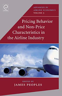 Pricing Behaviour and Non Price Characteristics in the Airline Industry PDF