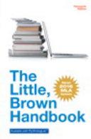 The Little Brown Handbook  MLA Update Edition PDF