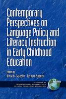 Contemporary Perspectives on Language Policy and Literacy Instruction in Early Childhood Education PDF