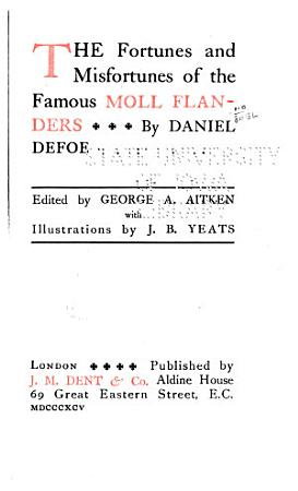 Moll Flanders  An appeal to honour and justice PDF