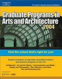 Graduate Programs in Arts and Architecture PDF