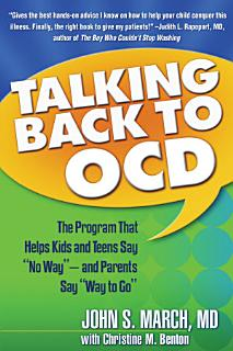 Talking Back to OCD Book