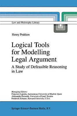 Logical Tools for Modelling Legal Argument PDF