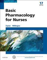 Basic Pharmacology for Nurses   E Book PDF