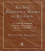 Recent Reference Books in Religion PDF