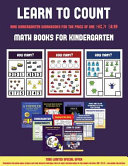 Math Books for Kindergarten  Learn to Count for Preschoolers  PDF